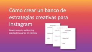 banco de estrategias para instagram